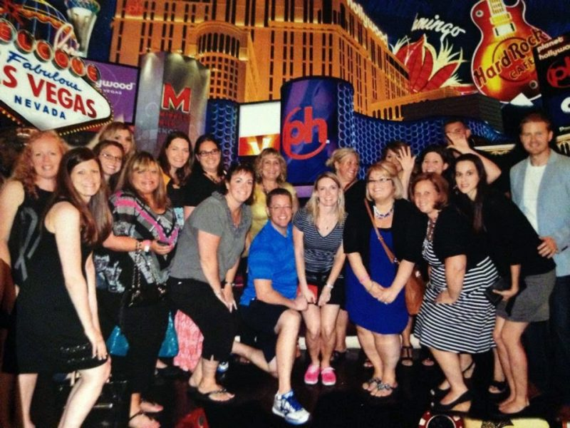 Teacher bloggers in Vegas