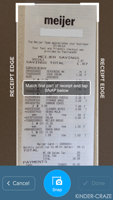 Shoparoo turns photos of grocery receipts into cash for schools!
