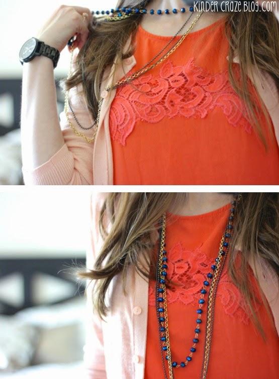 stitch fix dress with lace