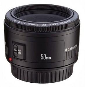 Canon 50 mm lens