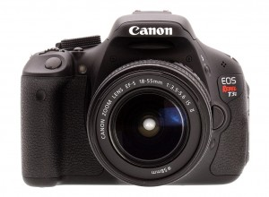 Canon Rebel T3i camera