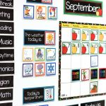 kindergarten classroom calendar