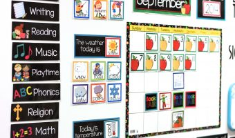 Teaching with My Classroom Calendar