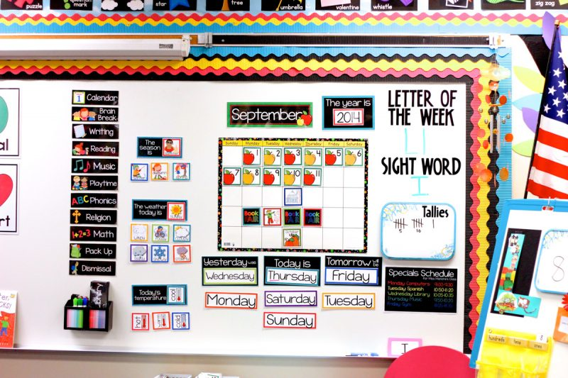 Kindergarten Calendar Math Ideas : Teaching with my classroom calendar