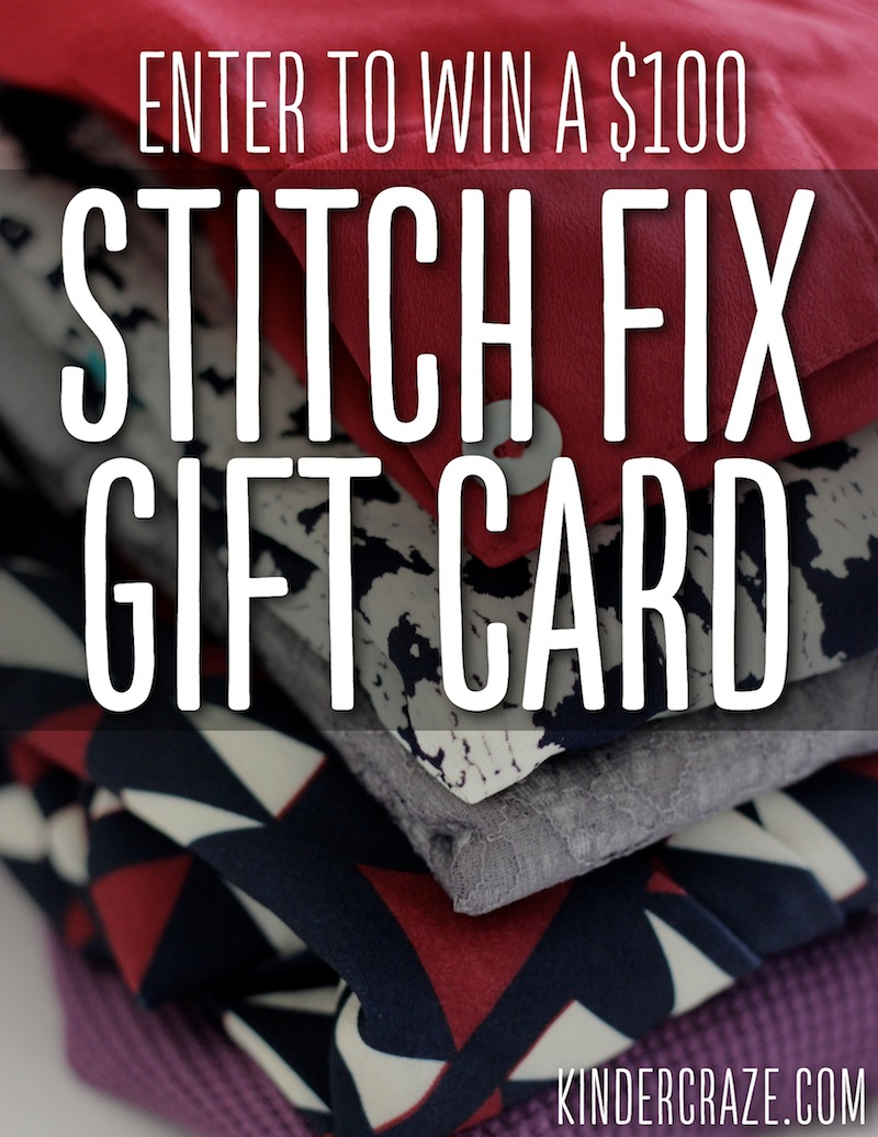 Enter to Win a $100 Stitch Fix Gift Card