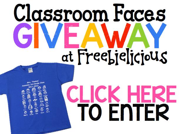 Enter to WIN a Class set of Custom t-shirts!