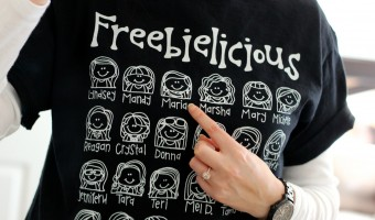 Custom T-Shirt Mega GIVEAWAY from Freebielicious