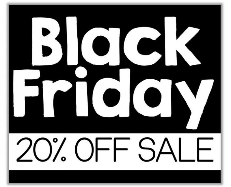 Save 20% in my TpT store on Black Friday!