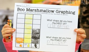 Halloween Marshmallow Graphing Freebie and FUN!