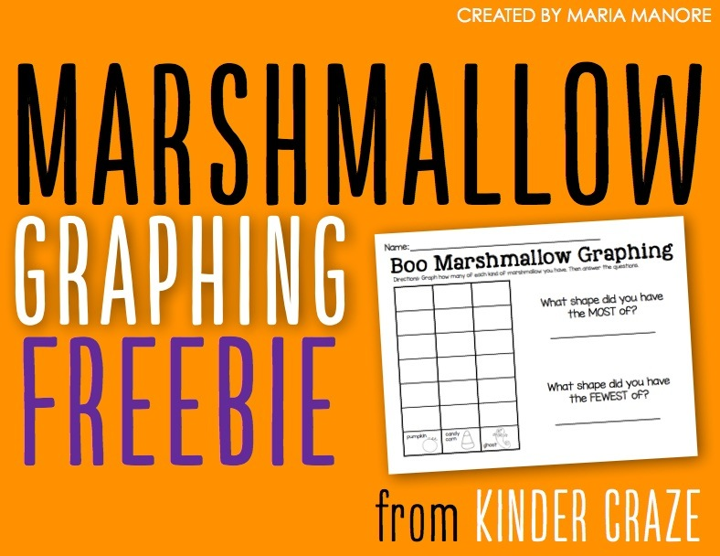 Marshmallow Graphing Freebie