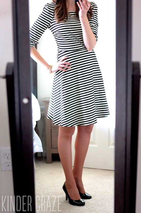 Kathy Striped Fit & Flare Dress from Stitch Fix