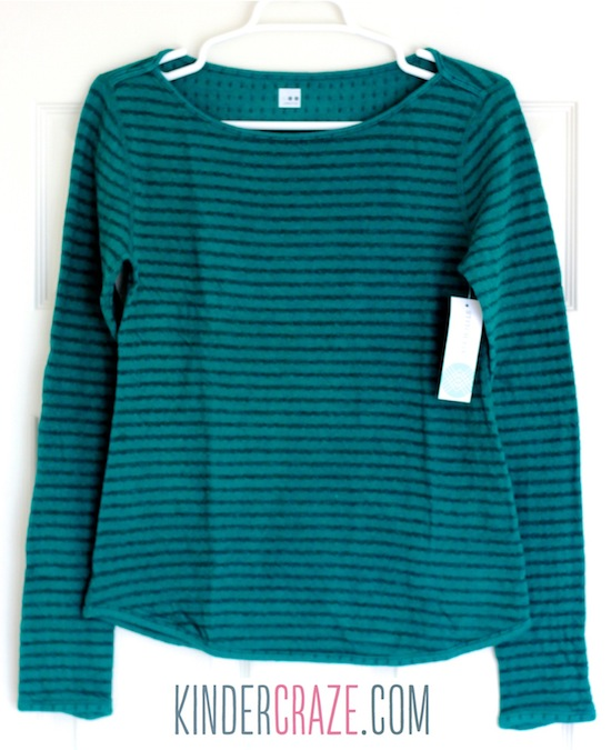 Dante Striped Boat Neck Knit Top from Stitch Fix