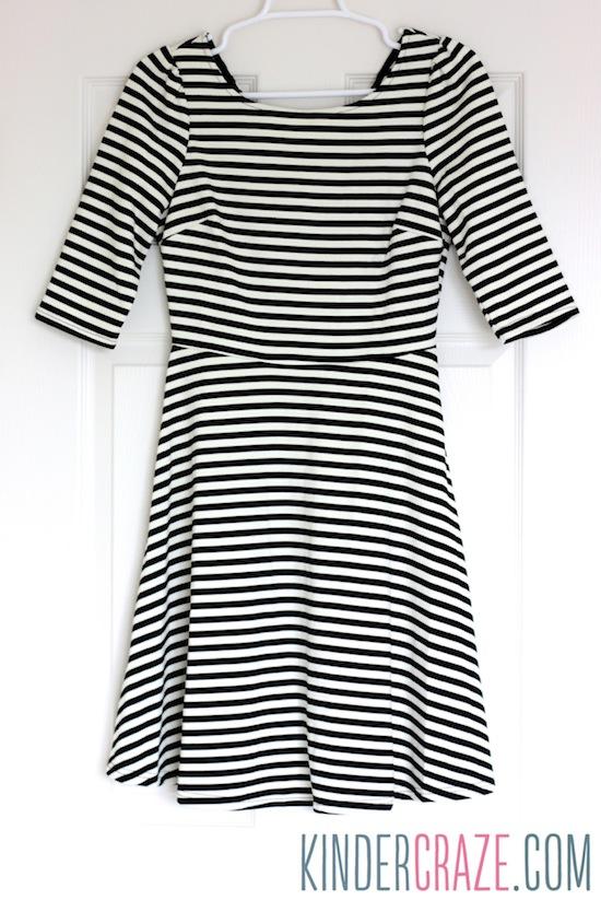 Kathy Striped Fit & Flare Dress from Stitch Fix