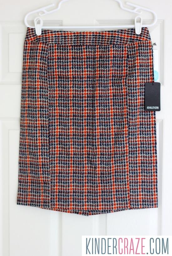 Emilia Plaid Print Pencil Skirt from Stitch Fix