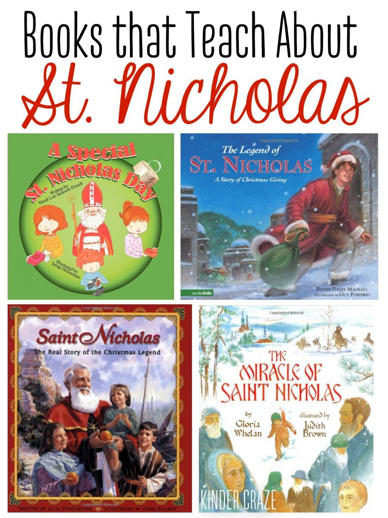 Books that Teach About Saint Nicholas