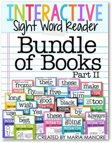 bundle of books 2… more than 70 emergent readers in one giant bundle
