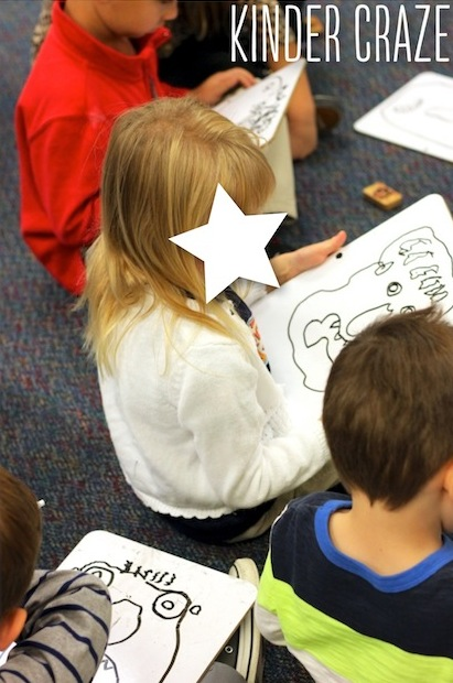 "give ""drawing lessons"" in your kindergarten class. The students love it and it encourages much better quality work."