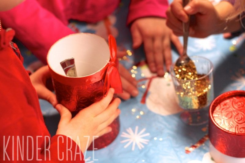 make reindeer food in the classroom