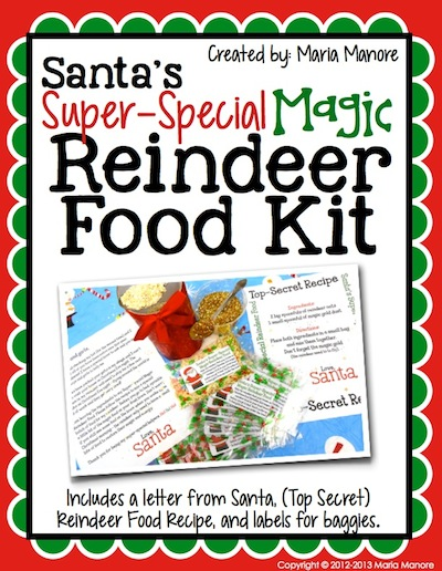 Santa's Super-Special Magic Reindeer Food Kit