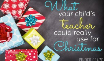 What Your Child's Teacher Could Really Use for Christmas