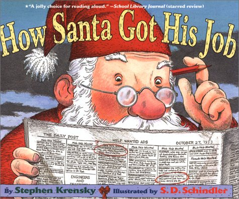How Santa Got His Job - 25 books about Santa