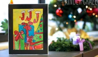 Christmas Parent Gift Idea for Kindergarten