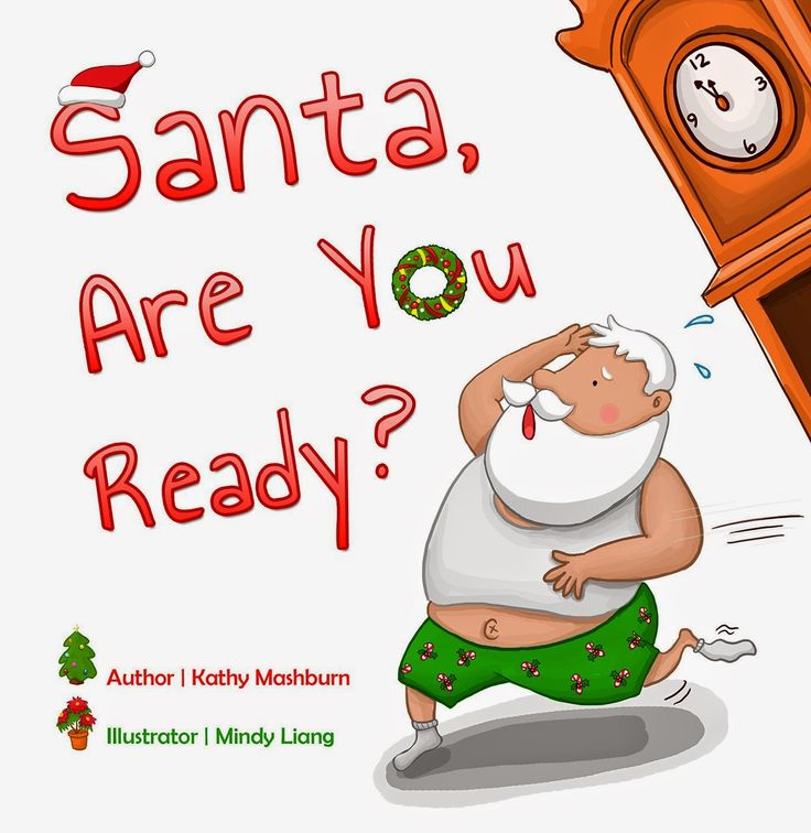Santa Are You Ready - 25 books about Santa