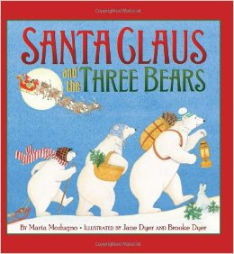 Santa Claus and the Three Bears - 25 books about Santa