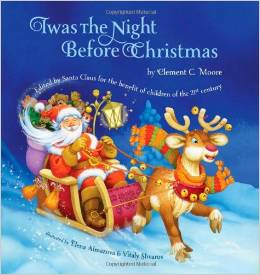 Twas the Night Before Christmas - 25 books about Santa