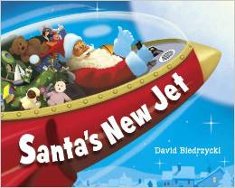 Santa's New Jet - 25 books about Santa