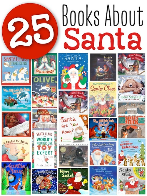 books about santa