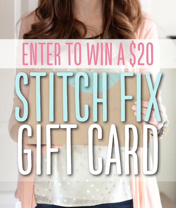 Enter to WIN a Stitch Fix gift card! #stitchfix #fashion