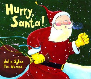 Hurry Santa - 25 books about Santa