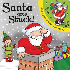 santa gets stuck - 25 books about Santa