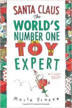 santa worlds number one toy expert - 25 books about Santa
