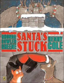 santa's stuck - 25 books about Santa