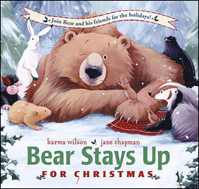 Bear Stays Up for Christmas - 25 books about Santa