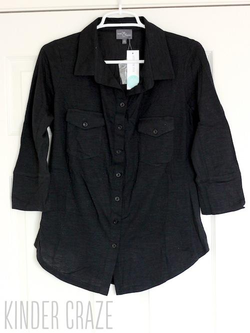 Jamie Button Down Cotton Shirt from Stitch Fix #stitchfix #fashion