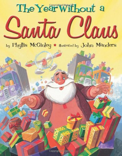 the year without Santa Claus - 25 books about Santa