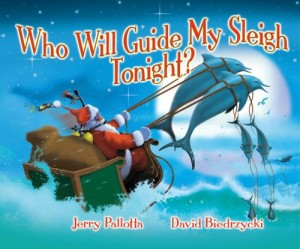 who will guide my sleigh tonight - 25 books about Santa