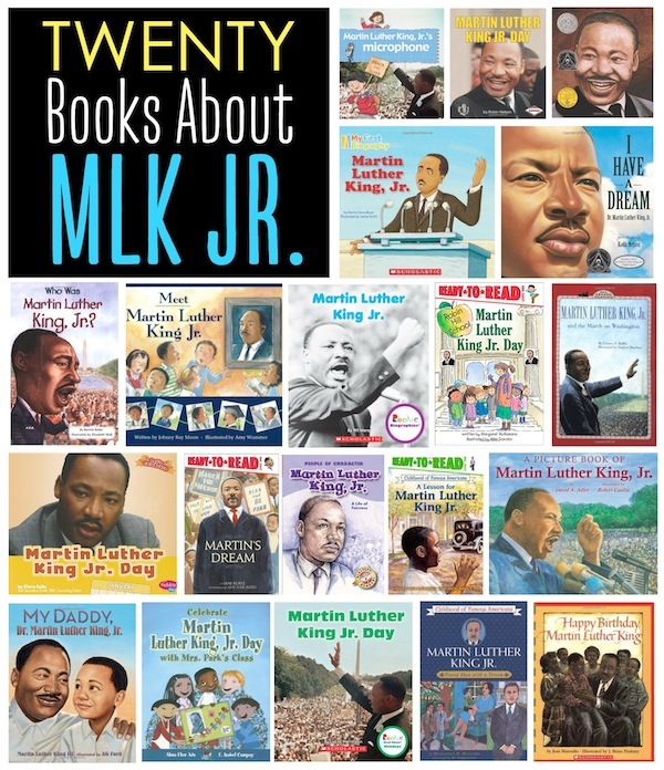 20 books about Martin Luther King, Jr.