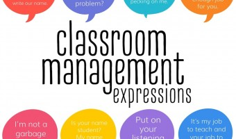 Classroom Management Phrases for Teachers January Roundup