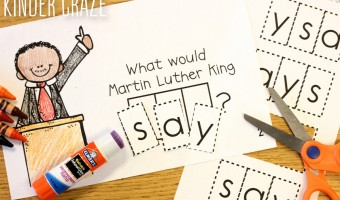 Interactive Readers for Martin Luther King Day