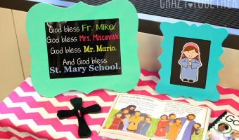 Free Editable Classroom Print for Catholic Schools Week