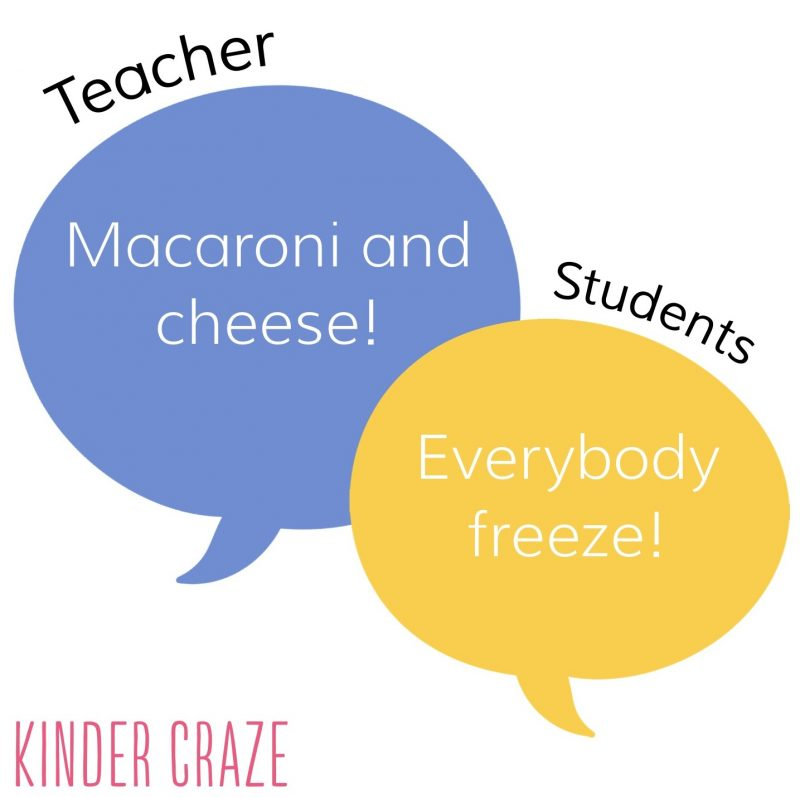 Great classroom management phrase! Blog post has lots more great expressions for teaches to use in the classroom