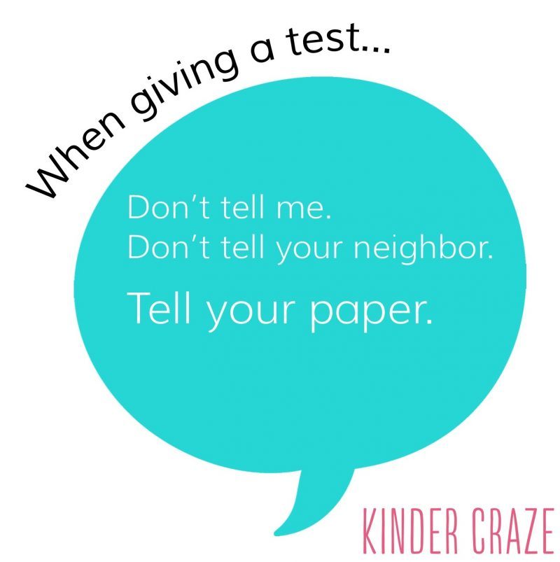 Classroom Management Phrases For Teachers Kinder Craze