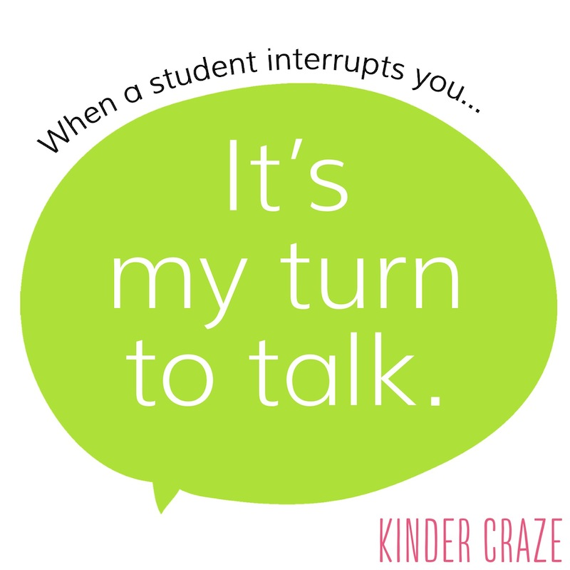 teacher-tested quotes for classroom management #kindercatchphrase