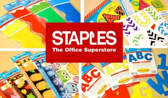 Staples Classroom Supply Giveaway