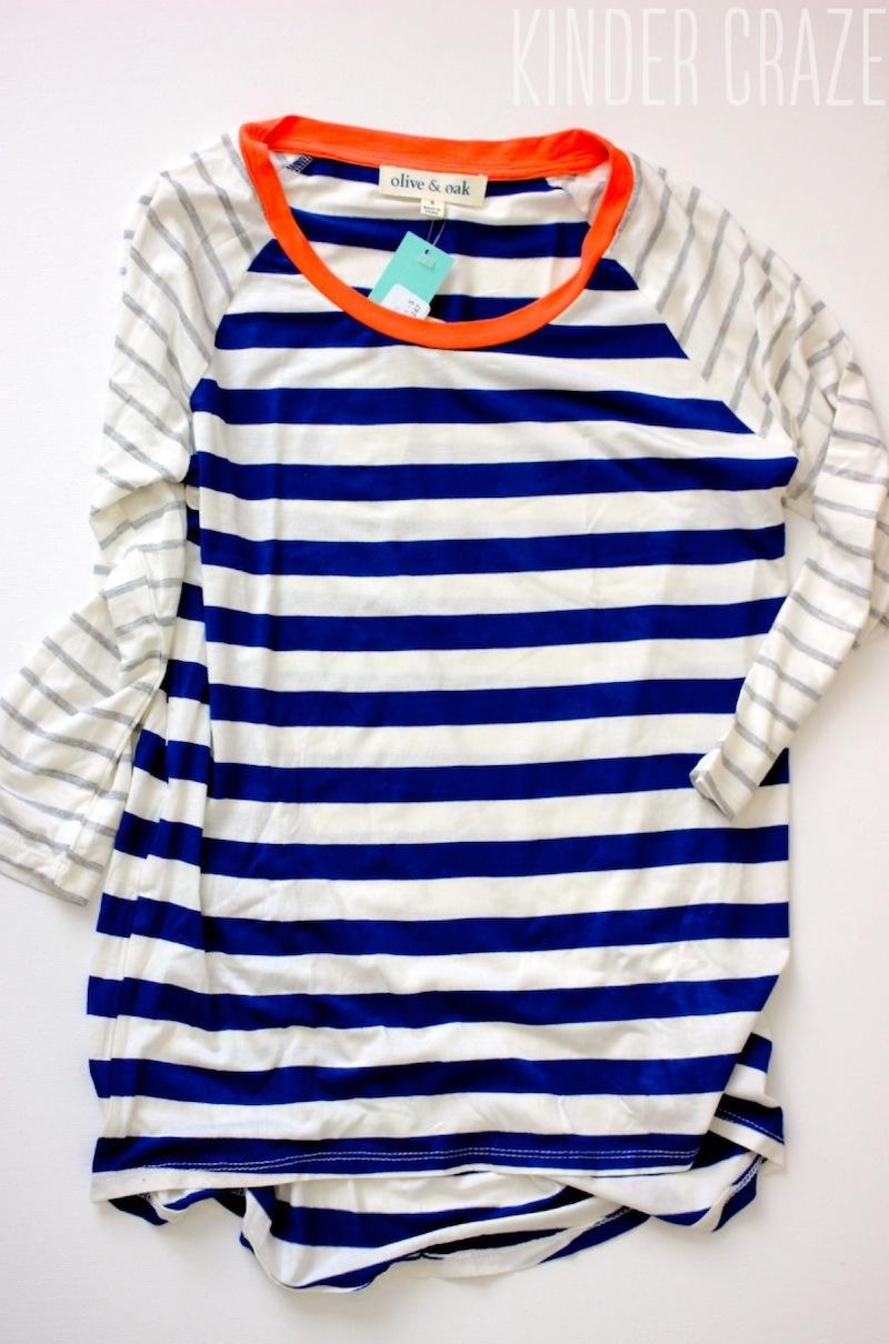 Olive & Oak Mulliken Raglan Striped Knit Shirt from Stitch Fix