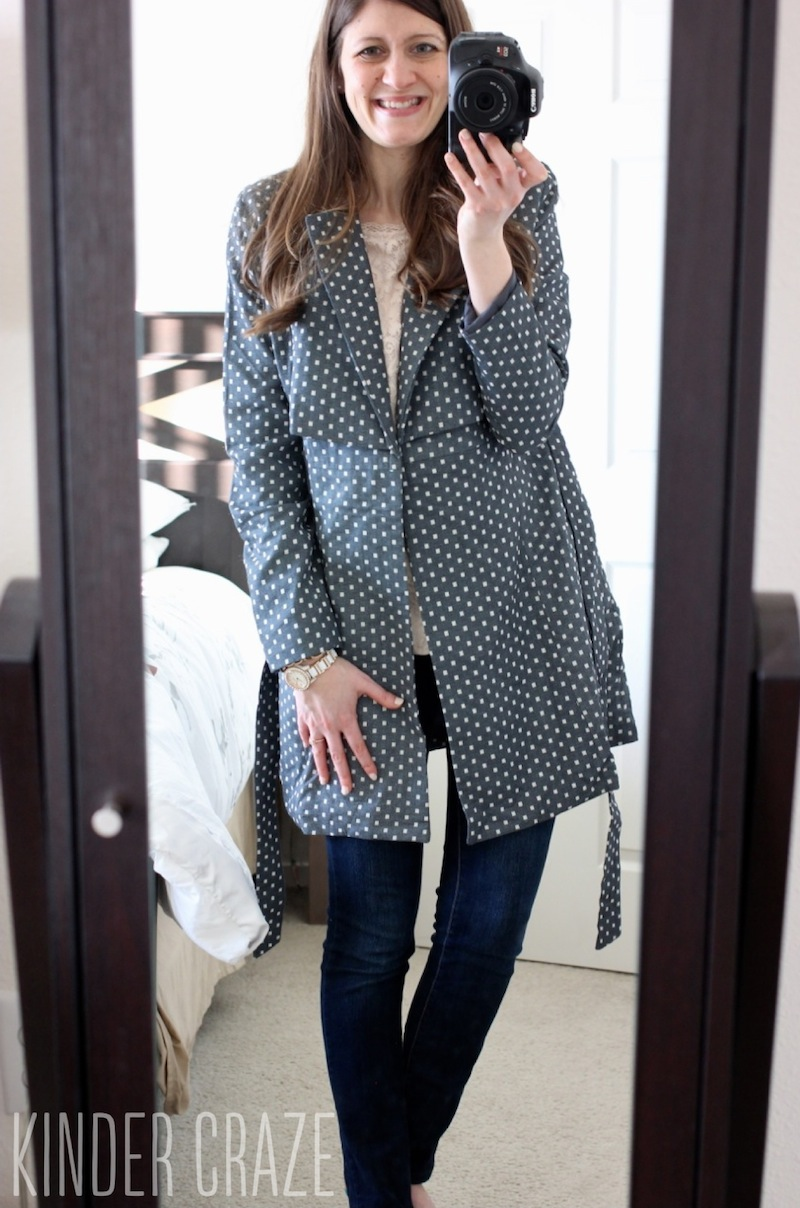 Tulle Kimmey Woven Trench Coat from Stitch Fix